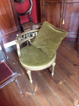 Empire Chair to accompany Chaise Longue